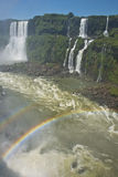Garganta del diablo at the iguazu falls Stock Photo