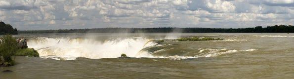 Garganta del Diablo, Iguazu falls. Argentina Royalty Free Stock Images