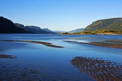Garganta del río Columbia Imagenes de archivo