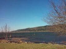 Garganta del río Columbia Fotografía de archivo