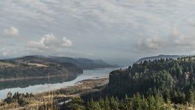 Garganta del río de Colombia, Oregon Fotos de archivo libres de regalías