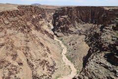 Garganta del río Little Colorado en Arizona Fotos de archivo libres de regalías