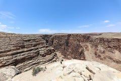 Garganta del río Little Colorado en Arizona Foto de archivo