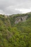 Garganta del río Pazinica Imagenes de archivo