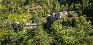 Garganta del Tarn, Francia foto de archivo libre de regalías