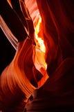 Garganta do antílope Fotografia de Stock Royalty Free