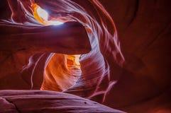 Garganta do antílope, o Arizona, EUA Fotografia de Stock