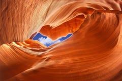 Garganta do antílope, o Arizona, EUA Fotos de Stock