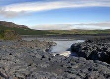 Garganta do basalto Fotos de Stock