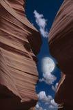 Garganta do deserto imagem de stock
