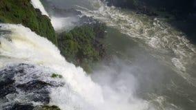 A garganta do diabo em Foz de Iguaçu Imagens de Stock Royalty Free