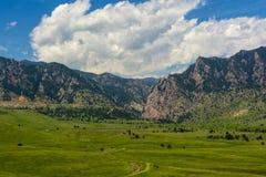 Garganta do eldorado em Boulder County, Colorado em Sunny Day fotos de stock royalty free