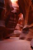 Garganta do entalhe do antílope, o Arizona imagens de stock royalty free