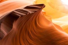 Garganta do entalhe no Arizona Imagens de Stock