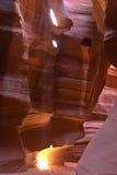 Garganta do entalhe no Arizona Fotos de Stock Royalty Free