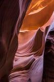 Garganta do entalhe no Arizona Fotografia de Stock Royalty Free