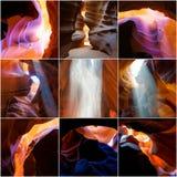 Garganta do entalhe no Arizona Foto de Stock