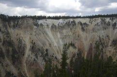 Garganta do parque nacional de Yellowstone foto de stock