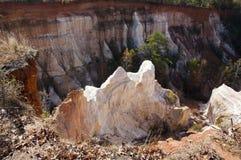 Garganta do providência, ` s de Geórgia - de Geórgia pouco Grand Canyon foto de stock