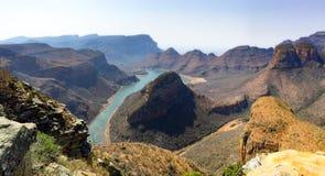 Garganta do rio de Blyde, Mpumalanga, África do Sul Fotografia de Stock
