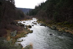 Garganta do rio de Klamath Imagem de Stock