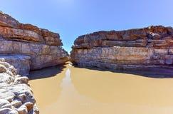 Garganta do rio dos peixes - Namíbia, África imagens de stock royalty free