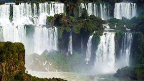 Garganta do ` s do diabo em Foz de Iguaçu, Brasil fotografia de stock royalty free