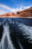 Garganta do vale e lago Powell Imagens de Stock Royalty Free