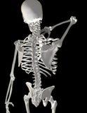 Garganta/dor traseira Fotografia de Stock Royalty Free
