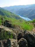 Garganta dos infernos - Idaho Imagem de Stock Royalty Free