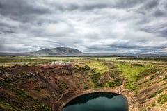 Garganta em Islândia Fotos de Stock