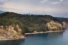 Garganta en el Mar Negro Fotos de archivo