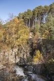 Garganta en Feshiebridge en las montañas de Escocia Fotografía de archivo libre de regalías