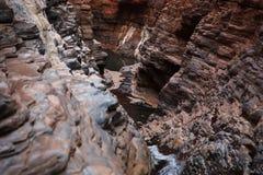 Garganta estrecha en Australia del oeste Fotos de archivo