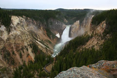 Garganta grande de Yellowstone Imagem de Stock Royalty Free