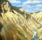Garganta grande de Yellowstone Imagem de Stock
