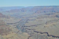 Garganta grande do rio de Colorado Rota do resto de Hermist Formações Geological imagens de stock royalty free