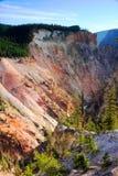 Garganta grande do Yellowstone Fotos de Stock Royalty Free