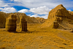 Garganta grande em Tibet Fotos de Stock Royalty Free