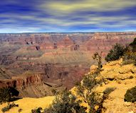 Garganta grande o Arizona imagens de stock royalty free