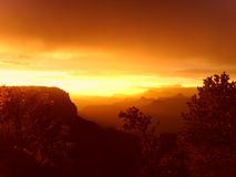 A garganta grande o Arizona? Fotografia de Stock Royalty Free
