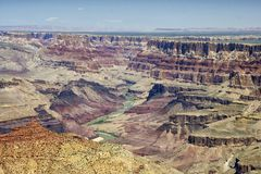 Garganta grande, o Arizona, EUA Imagens de Stock Royalty Free