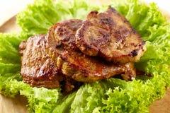 Garganta grelhada da carne de porco Imagens de Stock Royalty Free