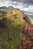 Garganta Kauai de Waimea Fotografia de Stock