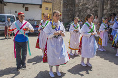 Garganta la Olla, Caceres, Extremadura, Spain, July 1, 2013, bal Stock Photos