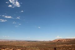A garganta mais baixa bonita do antílope, é chamada Hazdistazi ou 'arcos espirais da rocha pelo Navajo imagem de stock