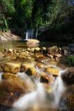 Garganta Mayor. River in Garganta La Olla city Royalty Free Stock Photography