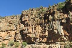 Garganta no vale do paraíso em Marrocos Imagem de Stock Royalty Free