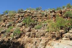 Garganta no vale do paraíso em Marrocos Imagens de Stock