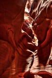 Garganta o Arizona do antílope imagem de stock